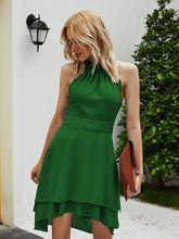 Load image into Gallery viewer, WYBLZ Summer Women Sexy Dress Cocktail Strapless Asymmetrcal Dresses Elegant Backless Ladies Evening Party Mini Dress Club Wear