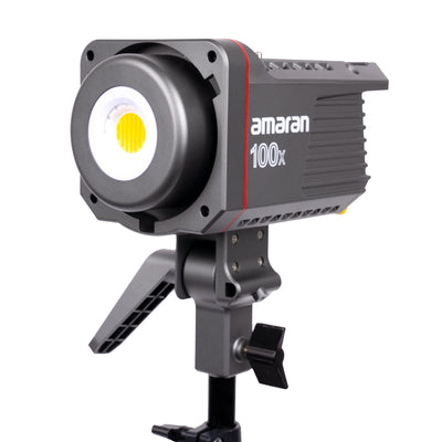 Amaran 100x Bi-colour Point-source LED Light with Wireless Bluetooth App Control