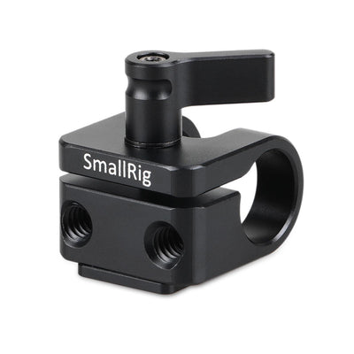 SmallRig 15mm Rod Clamp with Cold Shoe - 1597