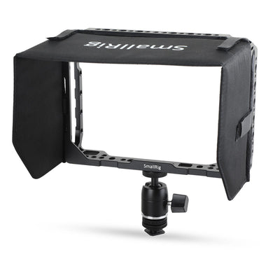 SmallRig 7'' Monitor Cage with Sunhood for Blackmagic Video Assist - 1988