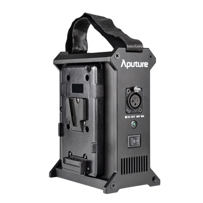 Aputure 2-Bay Battery Power Station - V-mount