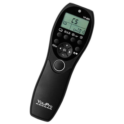 YouPro YP-880/N3 Wired Timer Remote for Canon 5D MK 3,5D MK2,7D,6D,1D Mk3,1D Mk4 - Rogitech Ltd