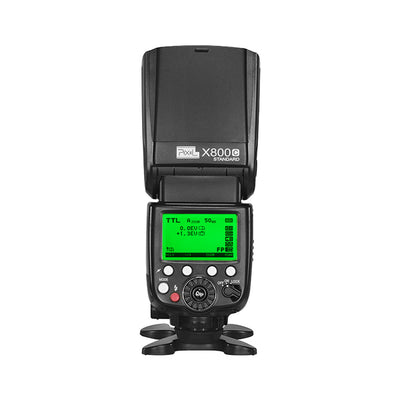Pixel X800C E-TTL GN60 High Speed Flashgun for Canon - Standard Edition - Rogitech Ltd