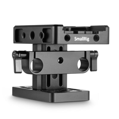 SmallRig Baseplate (Manfrotto) with 15mm Rail Support System - 2039