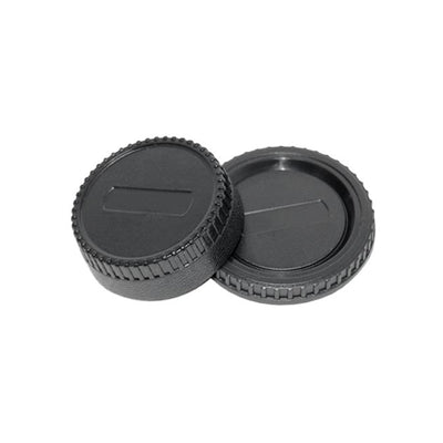 JJC L-R2 Rear Lens + Camera Body Cap Cover for Nikon DSLR Cameras