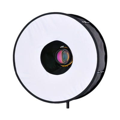 RoundFlash Professional Collapsible Ring Flash Light Box - Rogitech Ltd