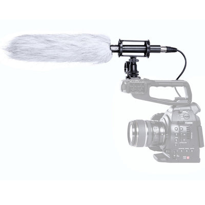 Boya BY-PVM-1000L Professional Condenser Shotgun Microphone for Cameras - Rogitech Ltd