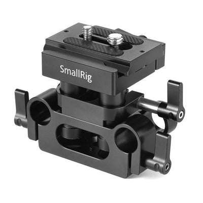 SmallRig Universal 15mm Rail Support System Baseplate - DBC2272