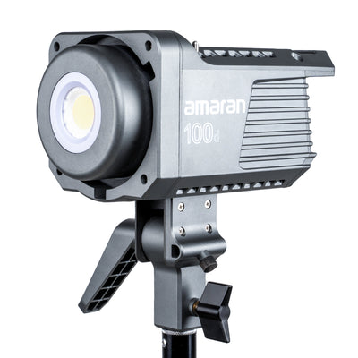 Amaran 100d 5600K Daylight LED Light with 0-100% Brightness Control
