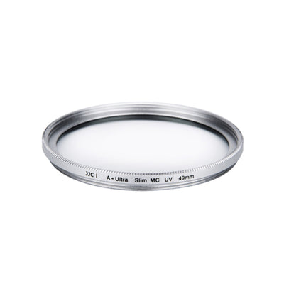 JJC F-MCUV49 (A+) 49mm Ultra Slim Frame Multi-Coated UV Filter - Silver