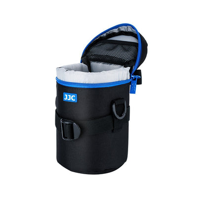 JJC DLP-3II Water Resistant Medium Lens Pouch w/Shoulder Strap fit upto 80x170mm