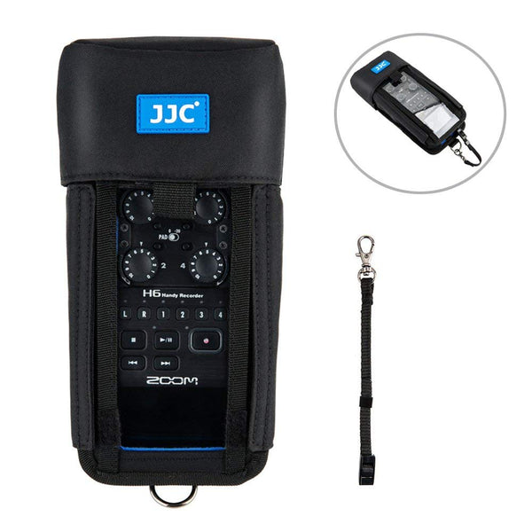 Jjc Hrp H6 Handy Recorder Protective Pouch Case For Zoom H6