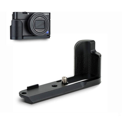 JJC HG-RX100 Camera Vertical Hand Grip/Metal Bracket Holder for Sony RX100 Series