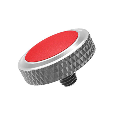 JJC SRB-GR Red Deluxe Soft Release Button for Fujifilm Leica Sony Cameras