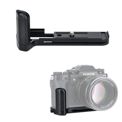 JJC HG-XT3 Metal Hand Grip Bracket Holder L Plate for Fujifilm X-T3, X-T2 Cameras