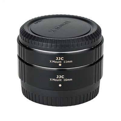 JJC AET-FXS(II) 11mm/16mm Automatic Focus Extension Tube for Fujifilm X Mount
