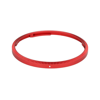 JJC RN-GR3 Metal Lens Decoration Ring Cap for Ricoh GR III - Red