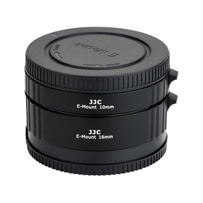 JJC AET-SES(II) 10mm/16mm Sets Automatic Focus Extension Tube for Sony E Mount