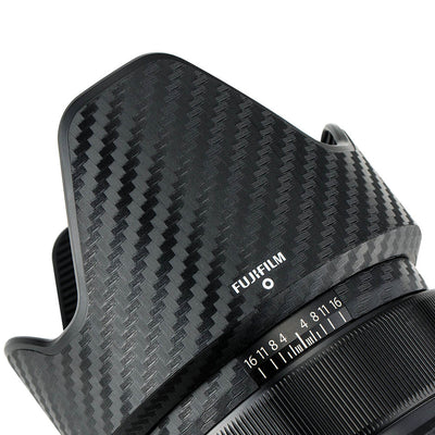 JJC KS-XF23F14CF Carbon Fibre Lens Skin Cover Film for FUJIFILM XF 23mm F/1.4 R