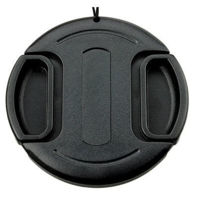 JJC LC-82 82mm Snap On/Clip on Lens Cap Protection Cover with Keeper for DSLR Cameras