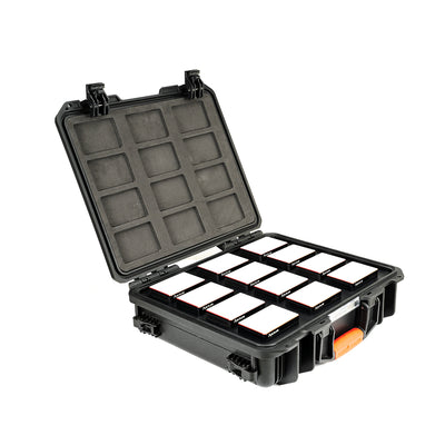 Aputure AL-MC RGBWW LED Light - 12-Light Travel Kit - UK Version