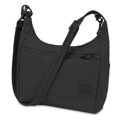 Pacsafe Citysafe CS100 Anti-Theft Travel Messenger Shoulder Handbag - 5L Black