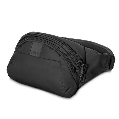 Pacsafe Metrosafe Anti-theft LS120 Hip Bag with Smart Zipper Security - Black