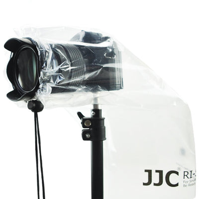 JJC RI-S Rain Cover Coat for DSLRs with Prime Lens and Mirrorless Cameras (2pcs)