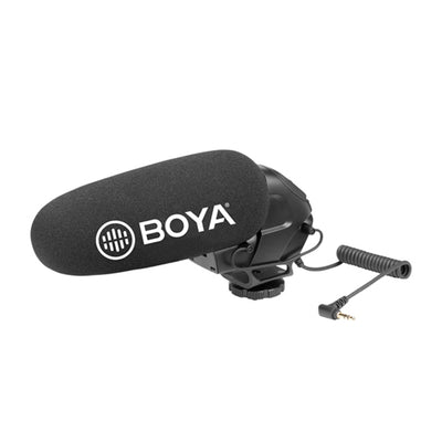 Boya BY-BM3031 Pro 3.5mm Plug On-camera Video Shotgun Microphone - Rogitech Ltd