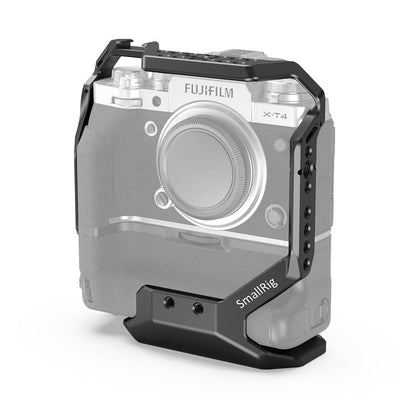 SmallRig Cage For Fujifilm X-T4 with VG-XT4 Vertical Battery Grip - CCF2810