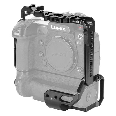 SmallRig Cage for Panasonic S1/S1R with DMW-BGS1 Battery Grip - CCP2410