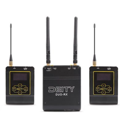 Aputure Deity Connect 2.4GHz Dual-Channel Wireless System - Rogitech Ltd