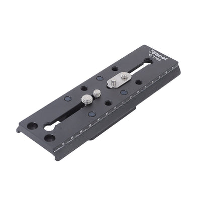iShoot QS-160Combo Metal Quick Release Plate for Manfrotto & Sachtler Ball Heads
