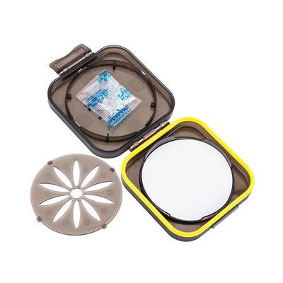 JJC FLC-S Moisture-proof Filter Case for 37mm/40.5mm/43mm/46mm/49mm/52mm/55mm