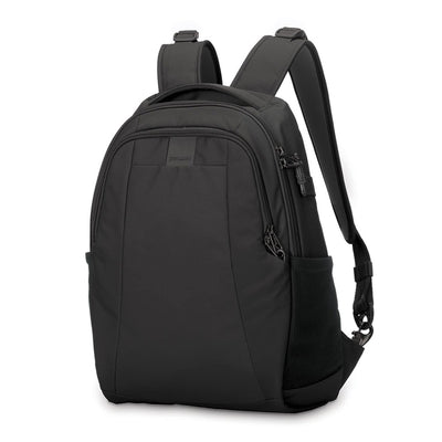 Pacsafe Metrosafe LS350 Anti-theft 15L Backpack Bag Fits a 13 inch MacBook - Black