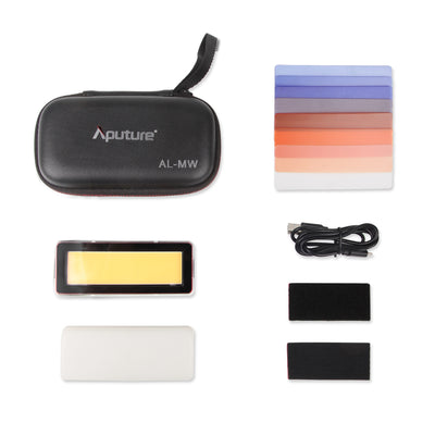 Aputure AL-MW IP68 10m Underwater Pocket Size 10W LED Light with Metal Body