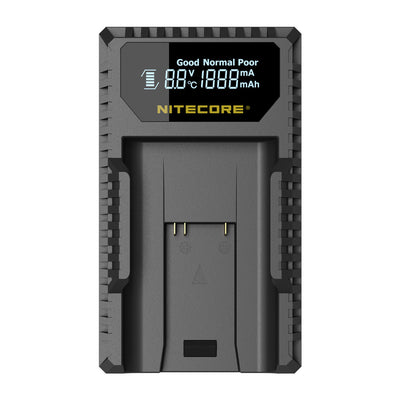 Nitecore ULM9 Battery Charger for Leica BLI-312 Battery - Rogitech Ltd