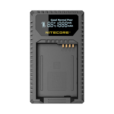 Nitecore ULQ Battery Charger for Leica BP-DC12, Lumix's DMW-BLC12, Sigma's BP-51 - Rogitech Ltd