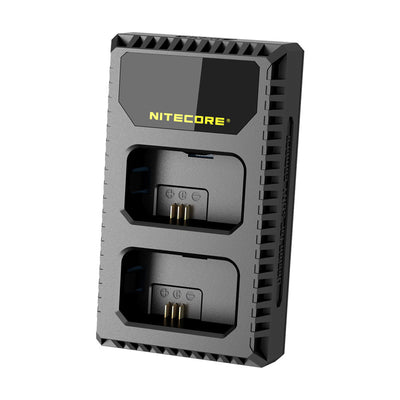 Nitecore USN1 Battery Charger for Sony Cameras Batteries replaces NP-FW50 - Rogitech Ltd