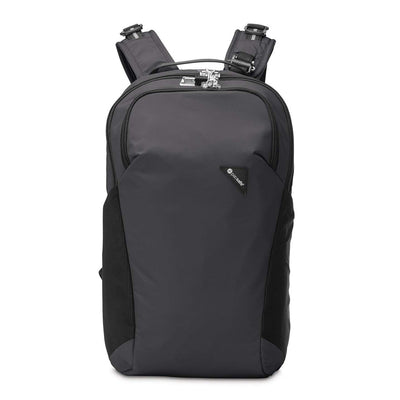 Pacsafe Vibe 20 20L Anti-theft Backpack Bag with a 13'' Laptop Sleeve - Black