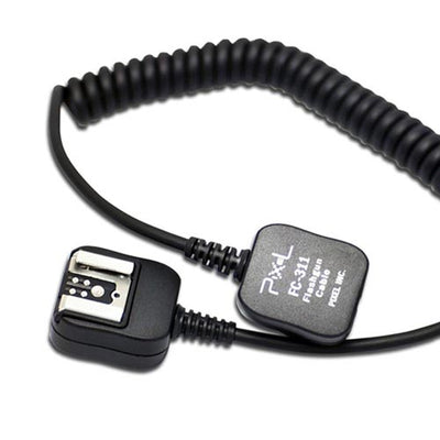 Pixel FC-311M TTL Off-Camera Flash Sync Cord for Canon Camera Flashgun as OC-E3 - Long Version - Rogitech Ltd