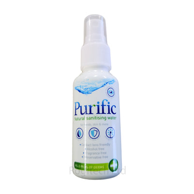 Purific Natural Sanitising Water for Hands, Skin Hygiene & More - 50ml