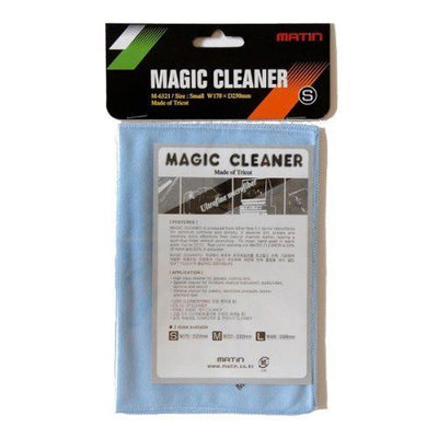 Matin M-6321 Microfibre Cleaner Cleaning Cloth Small (170x250mm) for Cameras, Screens