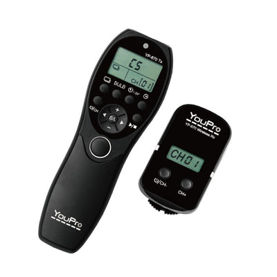 YouPro YP-870/DC0 Wireless Timer Remote for Nikon DC0 Cameras (10-pin) - Rogitech Ltd