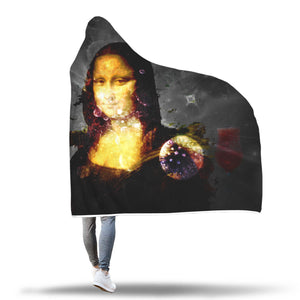 Monalisa's Return Hooded Blanket