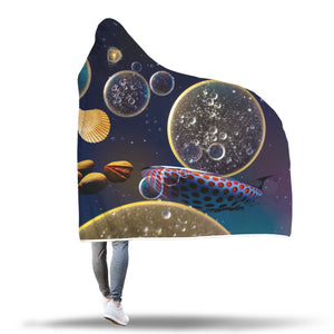 Galactic Instinct Hooded Blanket