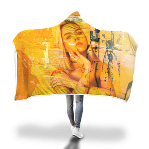 Amarillo Girl Hooded Blanket