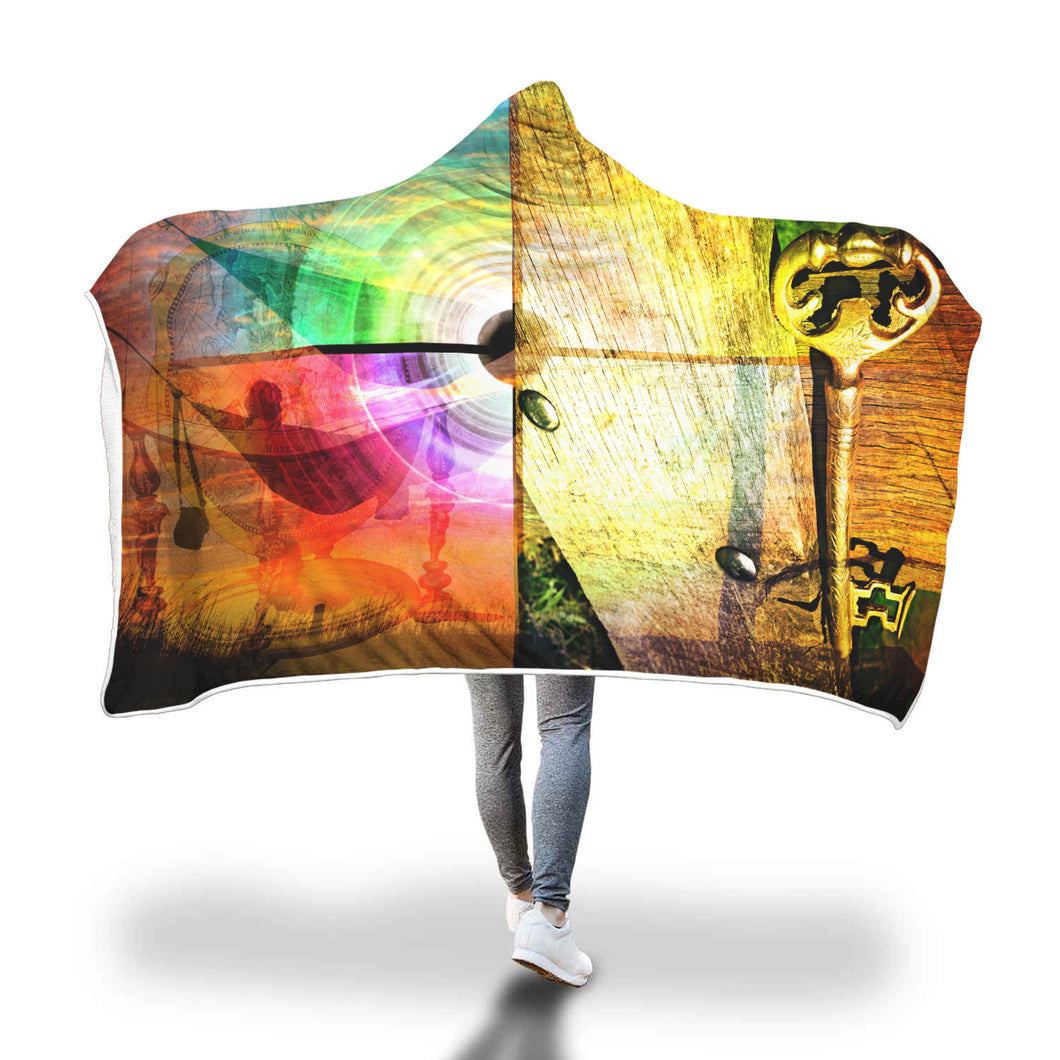 Key of Life Hooded Blanket