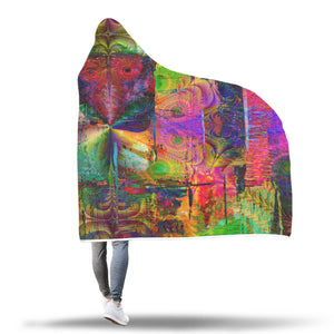 Sultans Of The Sun Hooded Blanket