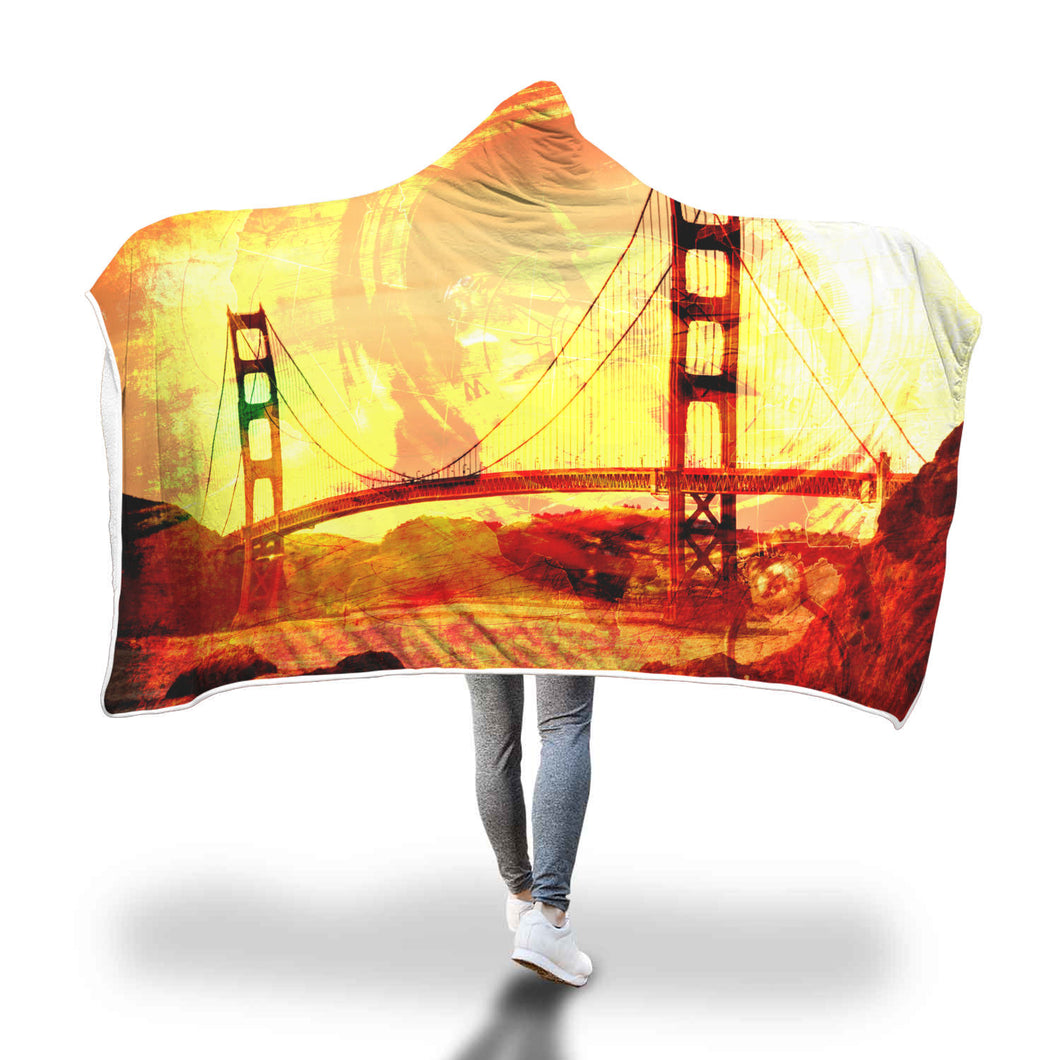 US Hour Hooded Blanket